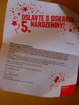 Oslavte s Oskarem 5. narozeniny!