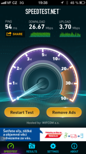 Vodafone v Praze